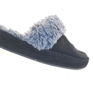 Vionic Women's Sublime Marley Suede Slipper Black